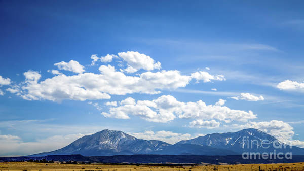 Photograph - Spanish Peaks by Jon Burch Photography