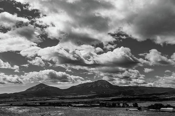 Photograph - Spanish Peaks, Summer Monsoons by TM Schultze
