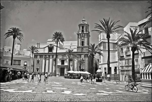 Catedral De Sevilla Wall Art - Photograph - Spanish Plaza In The Sun by Ingvild Nymoen Bragstad