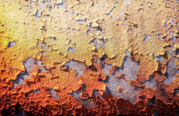 Photograph - Spanish Rust Abstract by John Williams