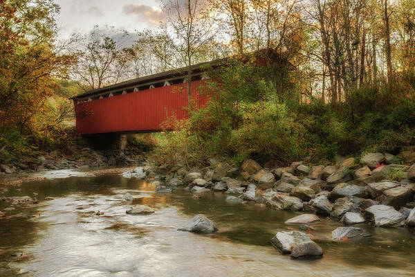 Across Photograph - Spanning Across The Stream by Dale Kincaid