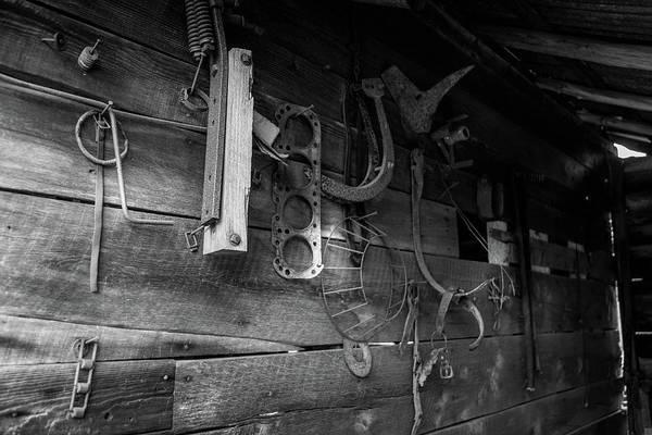 Photograph - Spare Parts by Doug Camara