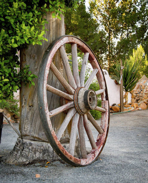 Wall Art - Photograph - Spare Wheel by Kyle Goetsch