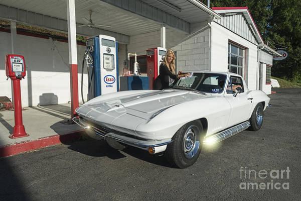 Photograph - Sparkling Corvette  by Dan Friend