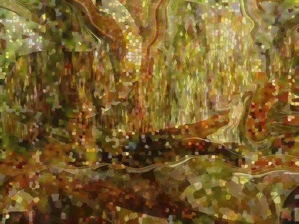 Digital Art - Sparkling Forest by rd Erickson
