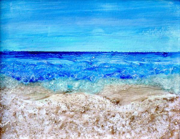 Painting - Sparkling Sands by Regina Valluzzi