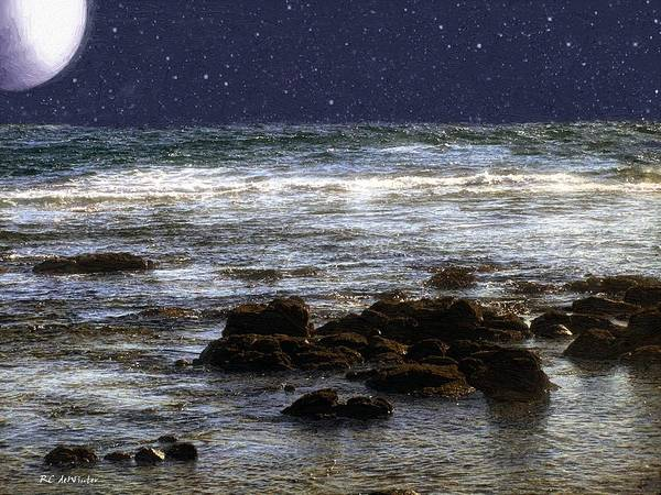 Painting - Sparkling Sea by RC DeWinter