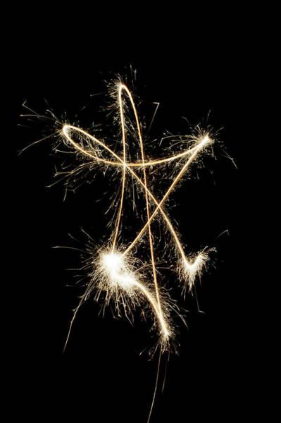 Photograph - Sparkling Star II by Helen Northcott