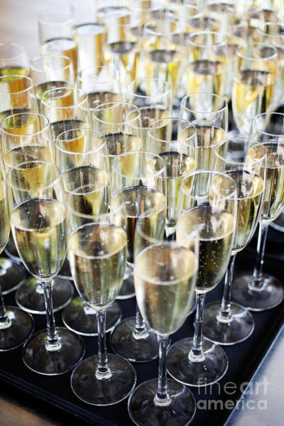 Wall Art - Photograph - Sparkling Wine by Kati Finell