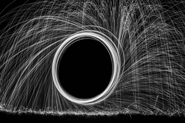Steel Wool Photograph - Sparks by Georgia Fowler
