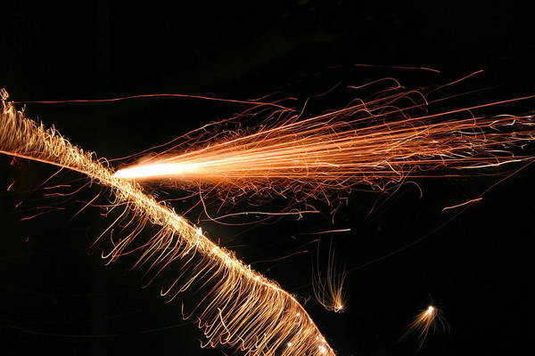 Photograph - Sparks Will Fly by Kristin Elmquist