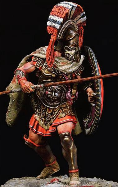 Spartan Hoplite - 05 Art Print