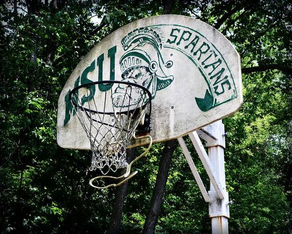 Photograph - Sparty Practice Hoop by Michelle Calkins