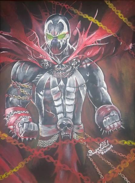 Spawn Painting - Spawn by Darrell Lormand