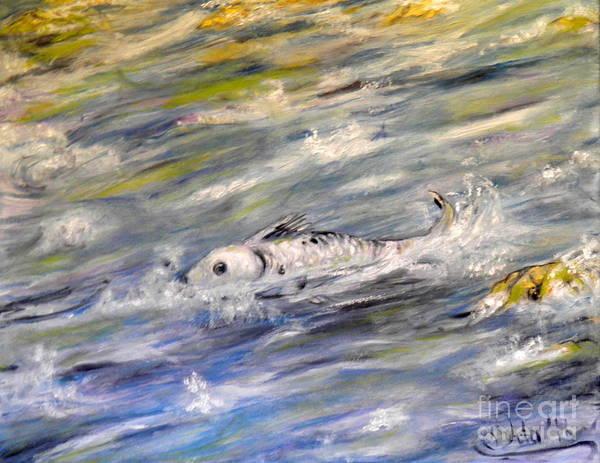 Spawn Painting - Spawn by Ida Eriksen
