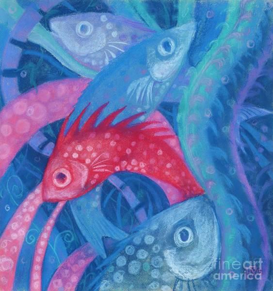 Painting - Spawning by Julia Khoroshikh
