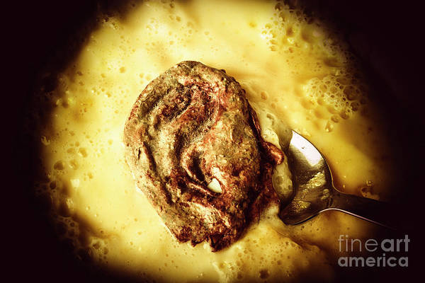 Bite Wall Art - Photograph - Speakeasy Pudding by Jorgo Photography - Wall Art Gallery