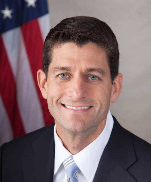 Painting - Speakers Of The United States House Of Representatives, Paul Ryan, Wisconsin by Celestial Images