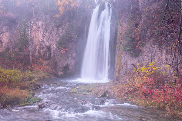 Photograph - Spearfish Falls by Angela Moyer