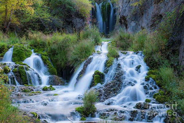 Wall Art - Photograph - Spearfish Falls In Spearfish Canyon by Twenty Two North Photography