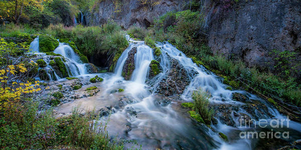 Wall Art - Photograph - Spearfish Falls by Twenty Two North Photography