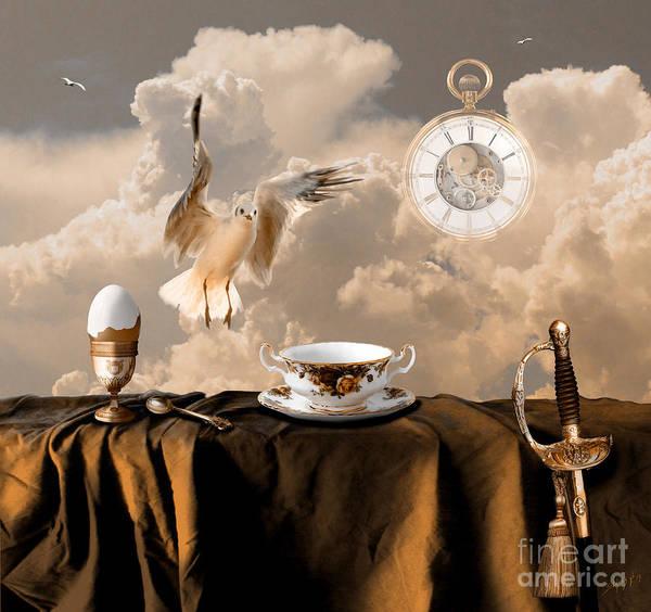 Digital Art - Special Breakfast by Alexa Szlavics