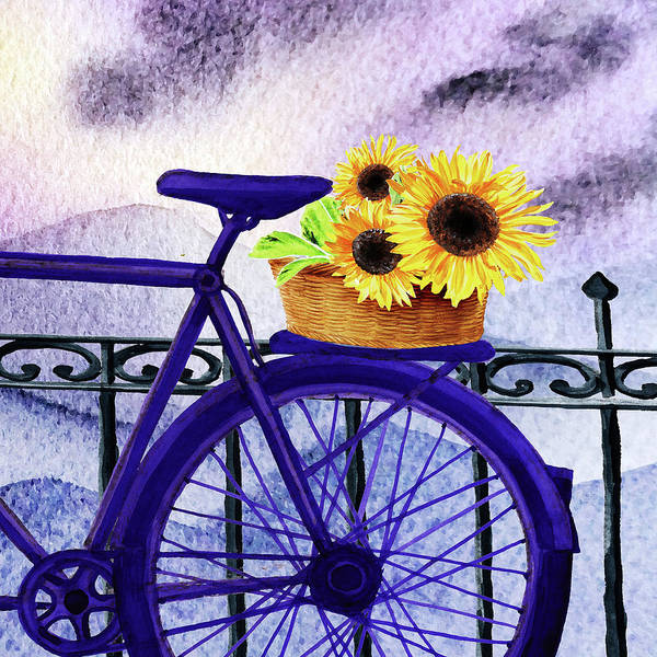Wall Art - Painting - Special Delivery  by Irina Sztukowski