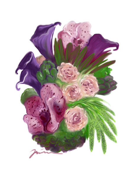 Painting - Special Flowers by Jean Pacheco Ravinski