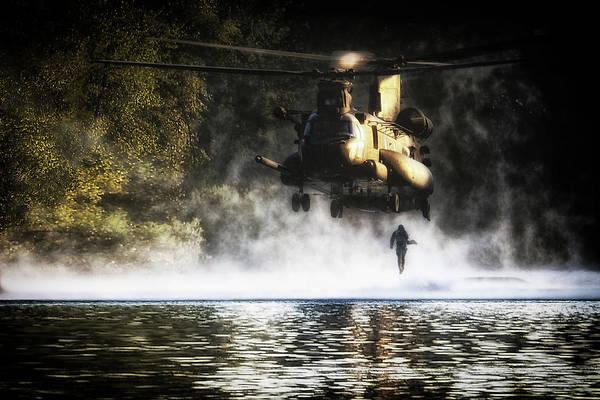 Chs Digital Art - Special Forces by J Biggadike