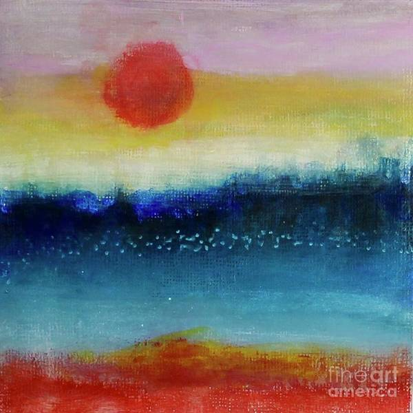 Painting - Speckled Horizon by Kim Nelson