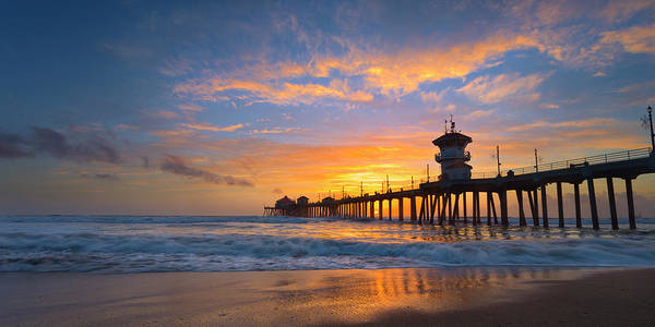 Huntington Beach Pier Photograph - Spectacle by Brian Knott Photography
