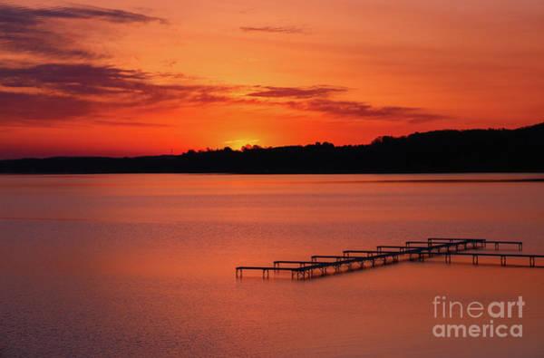 Photograph - Spectacular Dawn Of Fire by Rachel Cohen