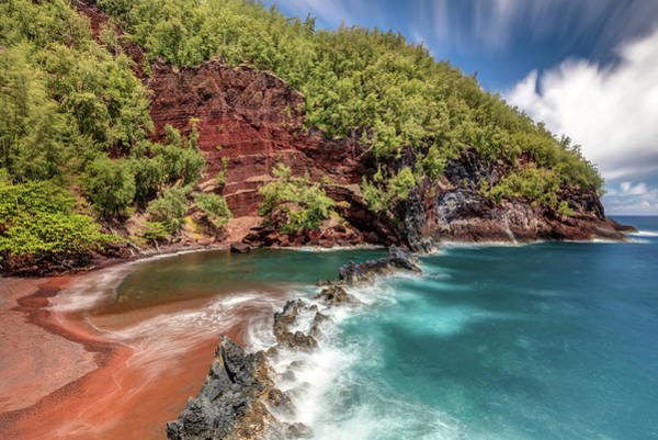 Photograph - Spectacular Red Sand Beach by Pierre Leclerc Photography
