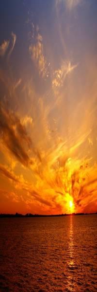 Wall Art - Photograph - Spectacular Sunset by Florene Welebny