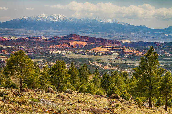 Photograph - Spectacular Utah Landscape Views by James BO Insogna