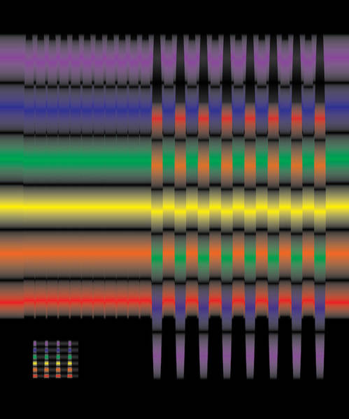 Spectral Integration Art Print