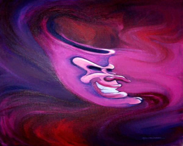 Digital Art - Spectrum Of Emotion Anger Anticipation by Kevin Middleton