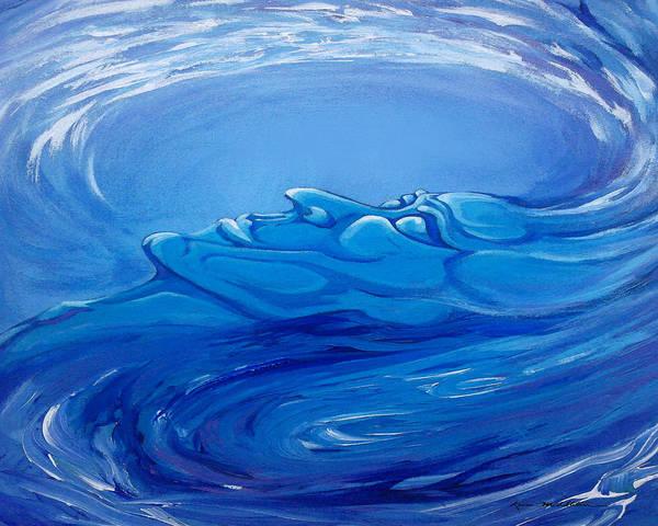 Digital Art - Spectrum Of Emotion Sadness Pensiveness by Kevin Middleton