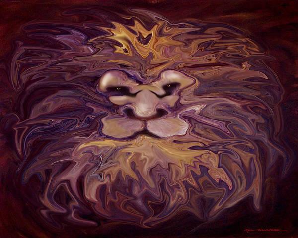 Digital Art - Spectrum Of Emotion Vigilance Amazement by Kevin Middleton