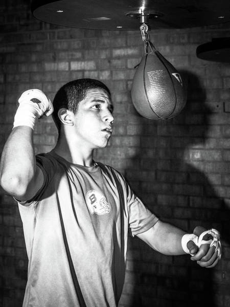 Photograph - Speed Bag And Shadow by SR Green