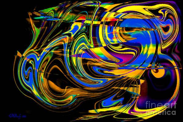 Digital Art - Speed by Donna Bentley