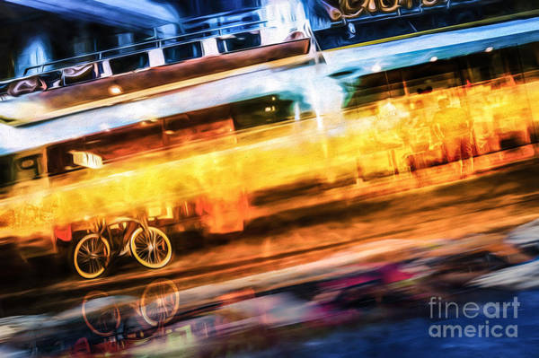 Photograph - Speed Of Light by Ray Warren