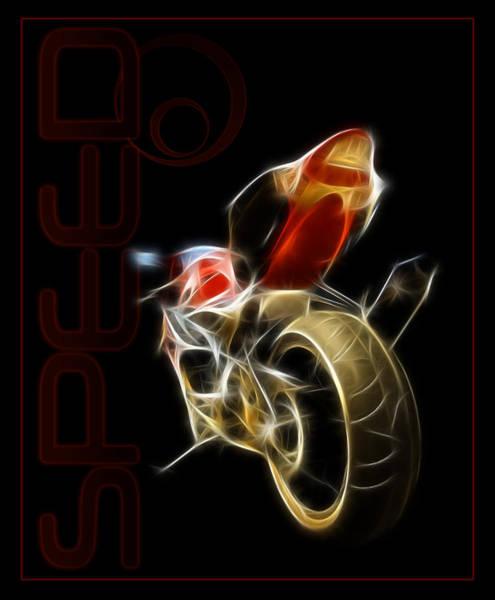 Digital Image Digital Art - Speed by Ricky Barnard