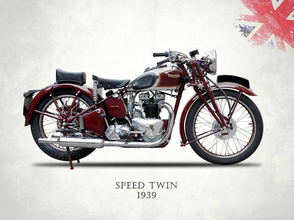 Wall Art - Photograph - Speed Twin 1939 by Mark Rogan