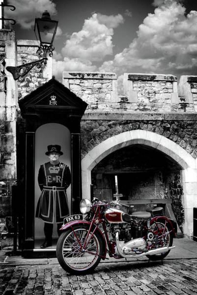 Wall Art - Photograph - Speed Twin At The Tower by Mark Rogan