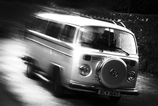 Photograph - Speeding In The Vw by Michael Hope