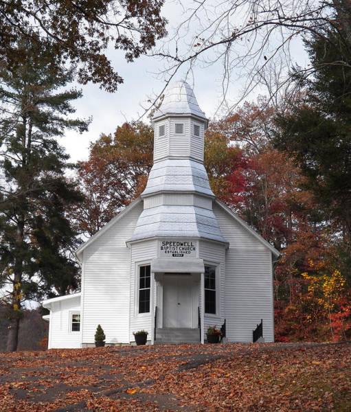 Photograph - Speedwell Baptist Church by Jennifer Robin