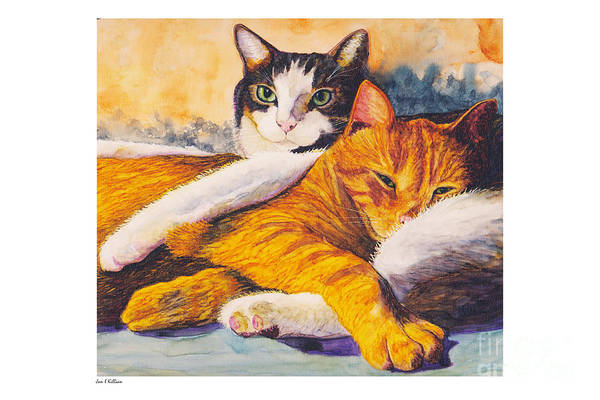 Painting - Speedy And Mike by Jan Killian