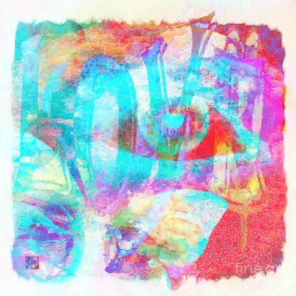 Painting - Spells L O V E  by Catherine Lott