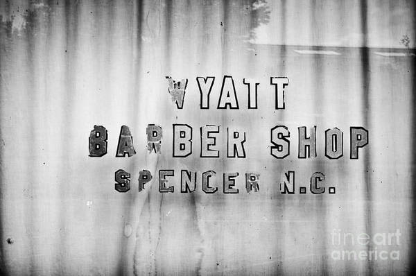 Photograph - Spencer Barber Shop by Patrick M Lynch